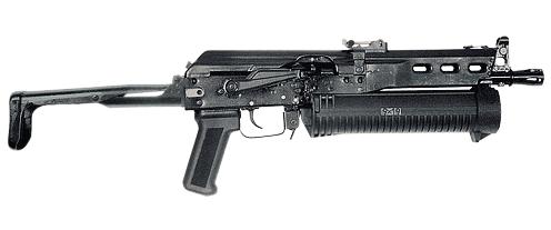 "9 мм пистолет-пулемет с магазином большой емкости модели ""Бизон-2"" и ""Бизон-2-01"""