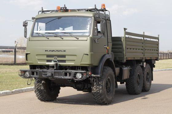 Беспилотный КАМАЗ на базе КАМАЗ-5350