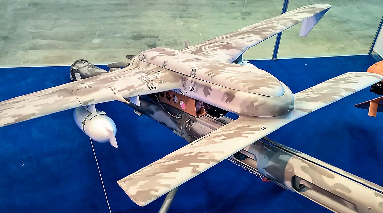 """БЛА малого класса Т-16 разработки казанской компании """"Эникс""""."""