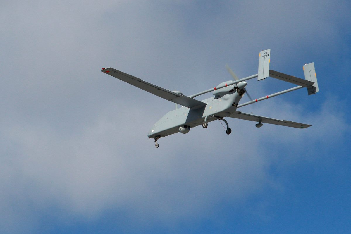 "БЛА ""Форпост"" (IAI Searcher Mk 2)."
