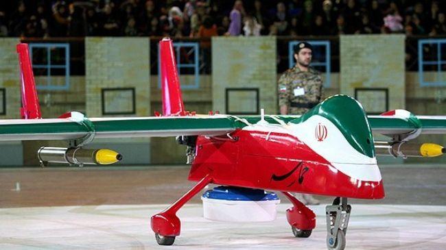 Беспилотный летательный аппарат Hamaseh иранского производства.
