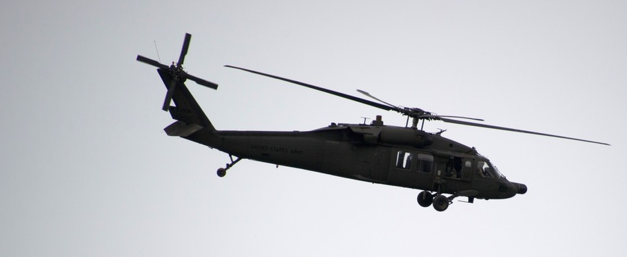Многоцелевой вертолет Black Hawk S-70i.