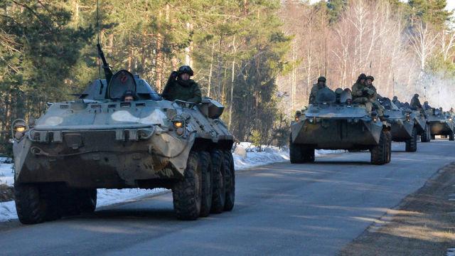 Военнослужащие вооруженных сил России