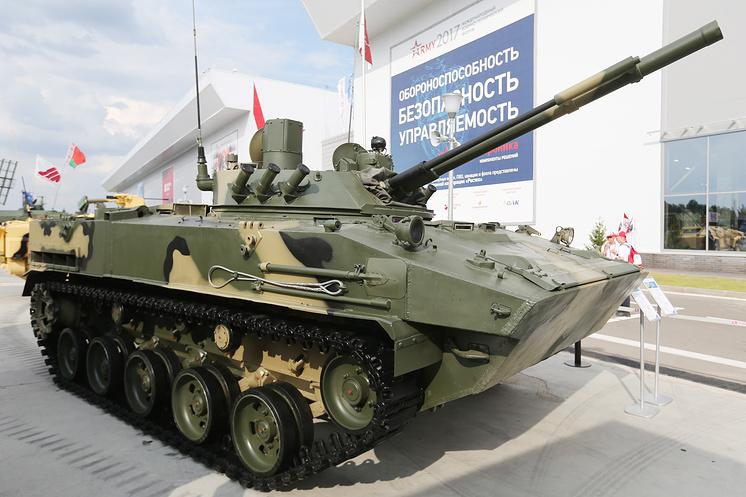 "Боевая машина десанта БМД-4М с боевым модулем ""Синица""."