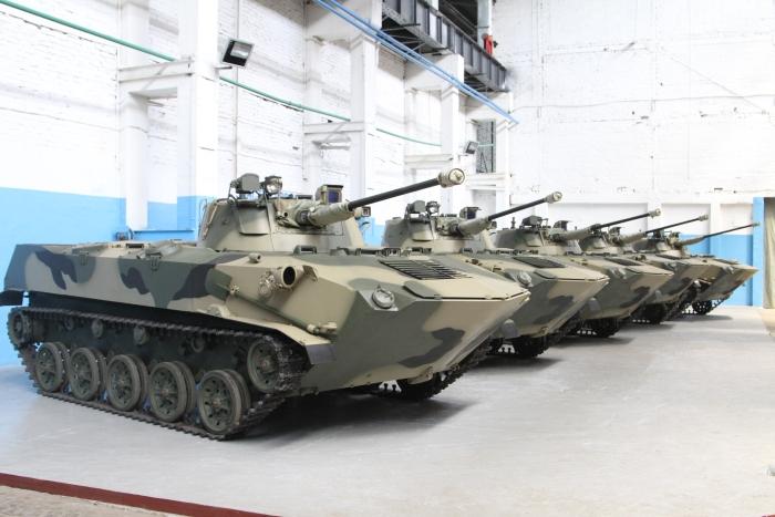 БМД-2 после капитального ремонта с модернизацией  готовы к отправке в войска.