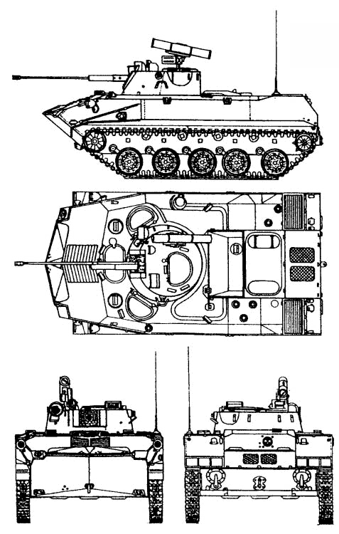 Боевая машина десанта БМД-2, БМД-2К