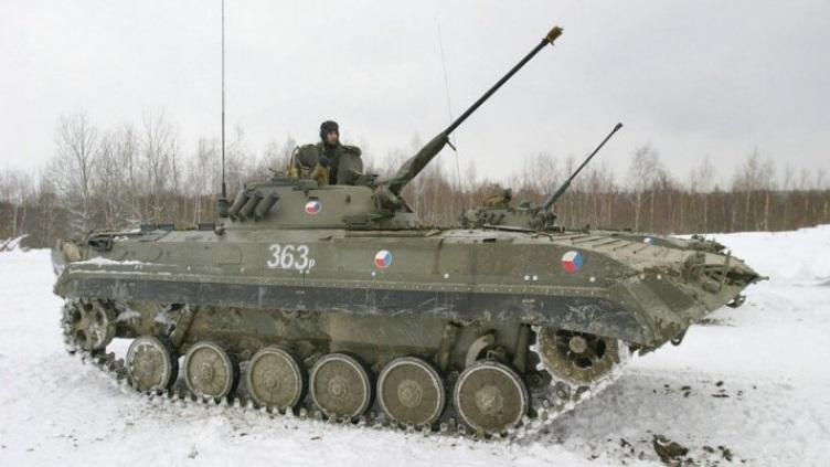 БМП-2 ВС Чехии.