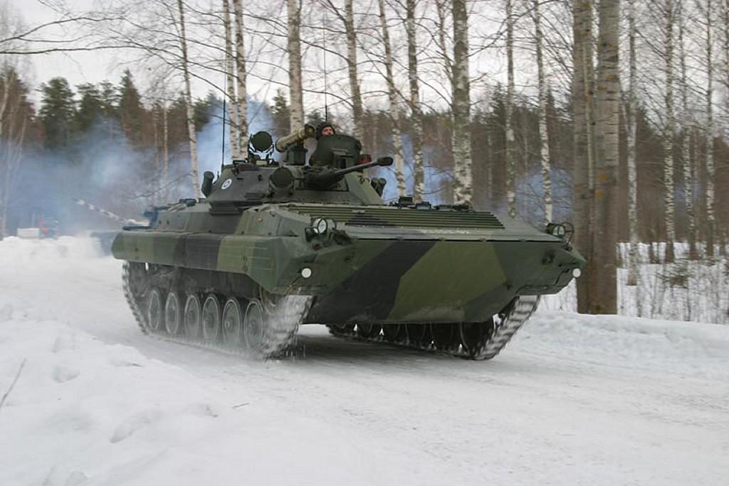 БМП-2 ВС Финляндии.