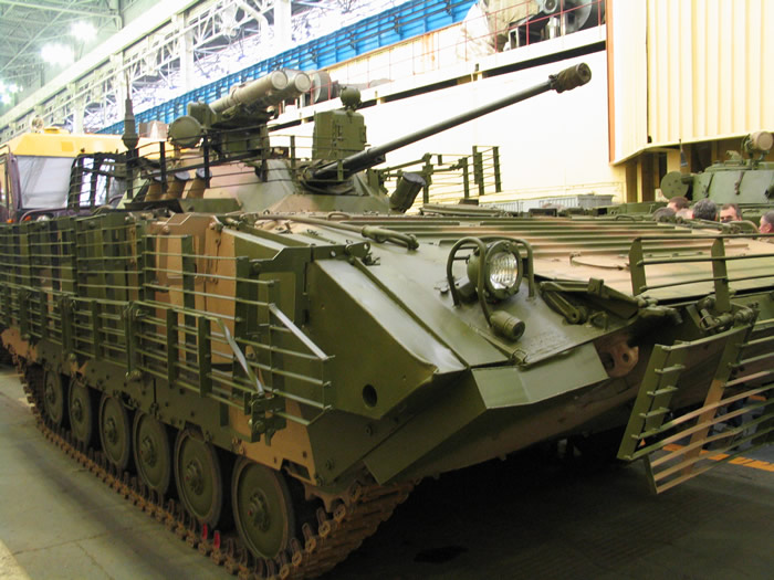 Вариант модернизации БМП-2М от Курганмашзавода