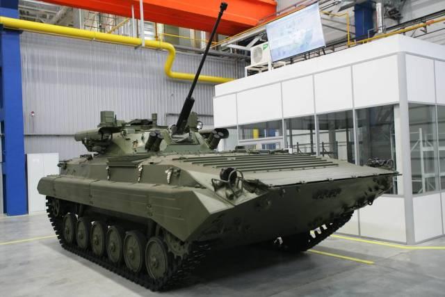 """БМП-2М с боевым отделением """"Бережок"""""""