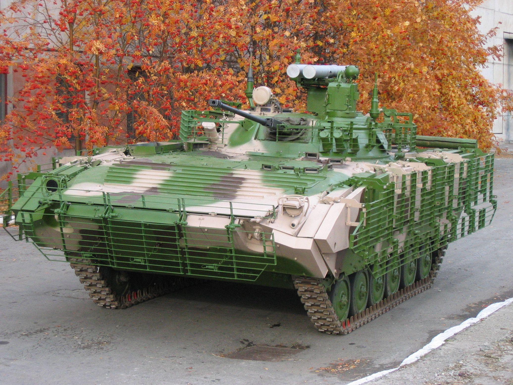 БМП-2 с ПТРК Атака
