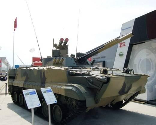 """БМП-3 с ПТУР """"Атака""""."""