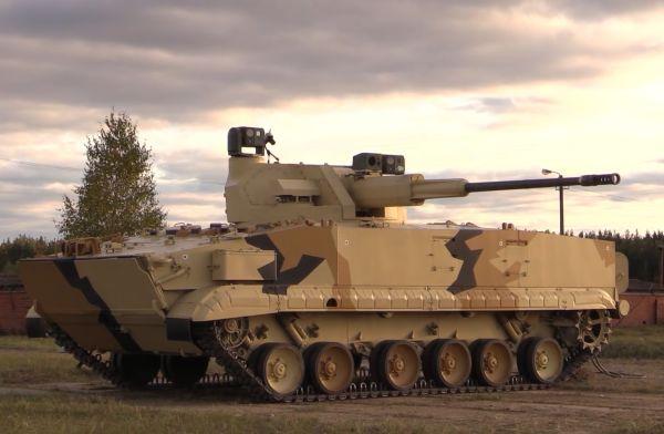 БМП-3, оснащенная боевым модулем АУ-220М