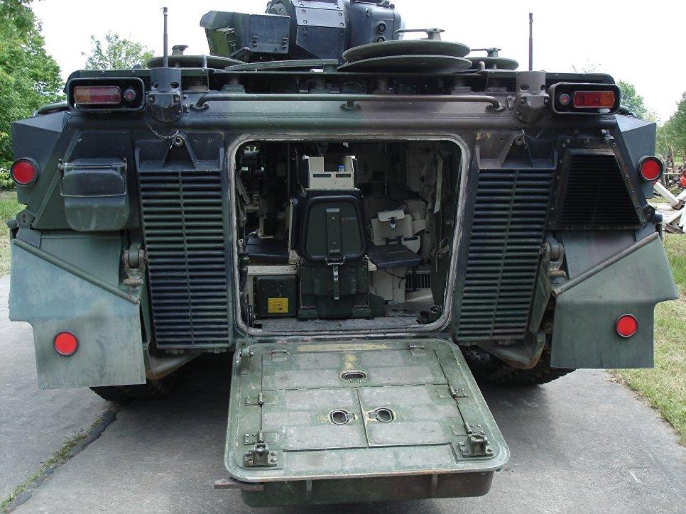 "Германская боевая машина пехоты (БМП) ""Мардер""."