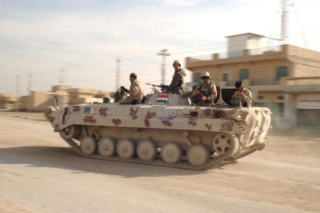 БМП-1 ВС Ирака.
