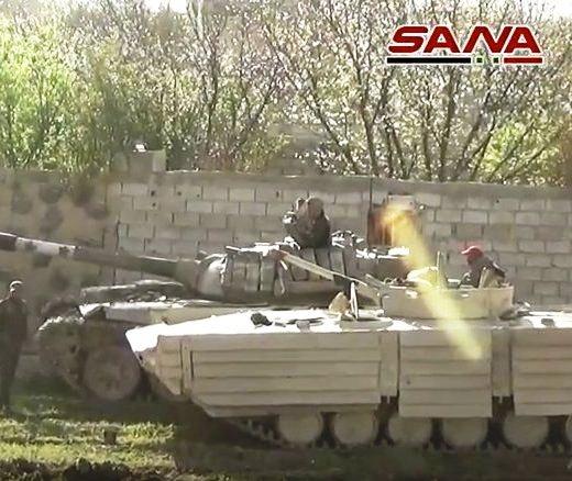 БМП-1 ВС Сирии.