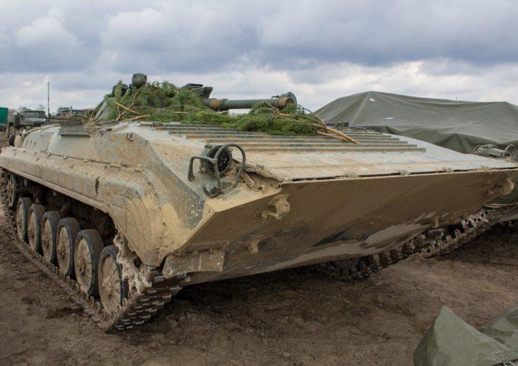 Получаемые вооруженными силами Украины приобретенные через Польшу боевые машины пехоты БМП-1АК лицензионного чехословацкого производства.