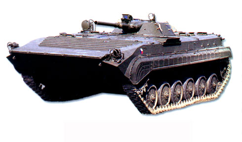 Боевая машина пехоты БМП-1П, БМП-1ПК