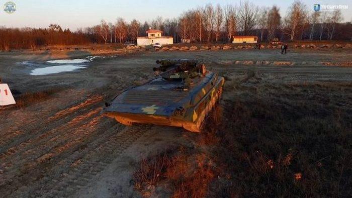 Украинская БМП-1УМД.