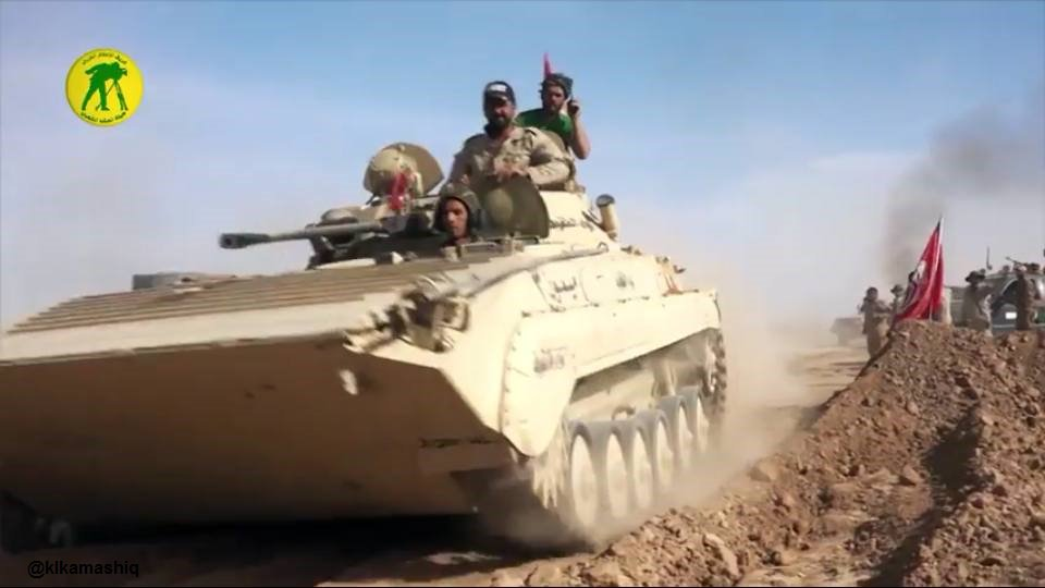 Восстановленная БМП-2 ВС Ирака.
