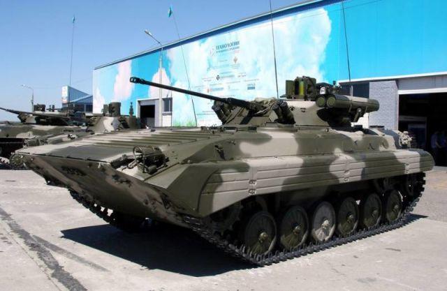"""БМП-2М с комплексом вооружения """"Бережок"""""""