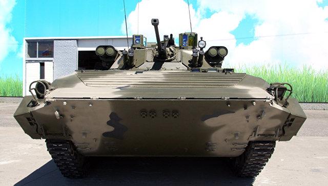 БМП-2М с комплексом вооружения Бережок.