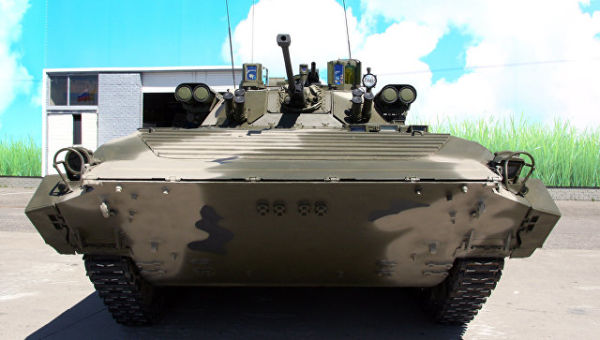 БМП-2М с комплексом вооружения Бережок
