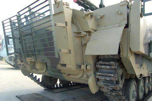 БМП-2М с усиленной защитой
