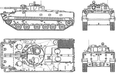 Боевая машина пехоты БМП-3, БМП-3К