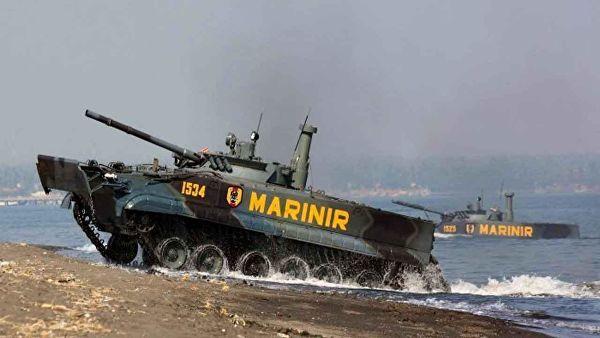 БМП-3Ф на вооружении индонезийской армии