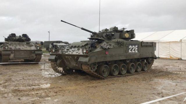 БМП UK Warrior