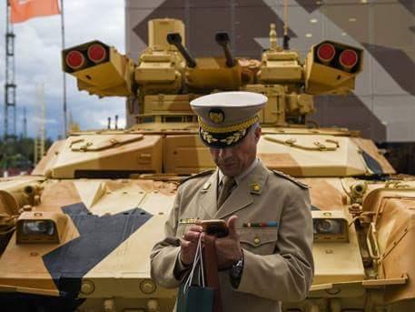Боевая машина поддержки танков БМПТ-72.