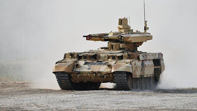 Боевая машина огневой поддержки БМПТ Терминатор-3.