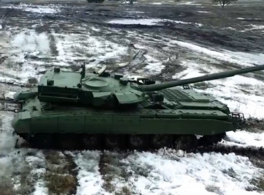 Украинский танк: гибрид БМТ-72 с башней от Т-72-120.