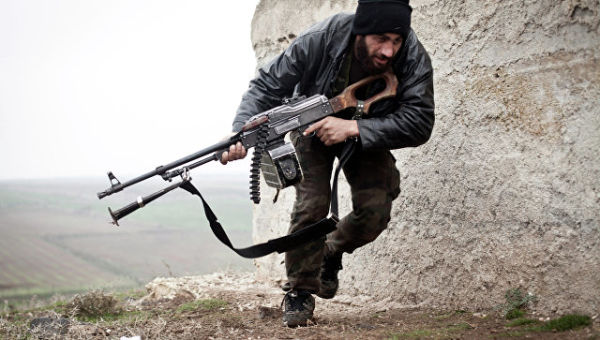 Боец сирийской оппозиции