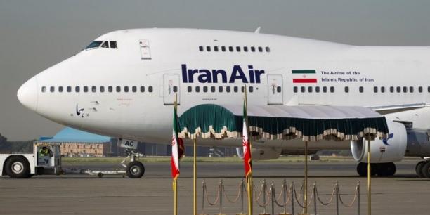 Пассажирский самолет Boeing 747 авиакомпании IranAir.
