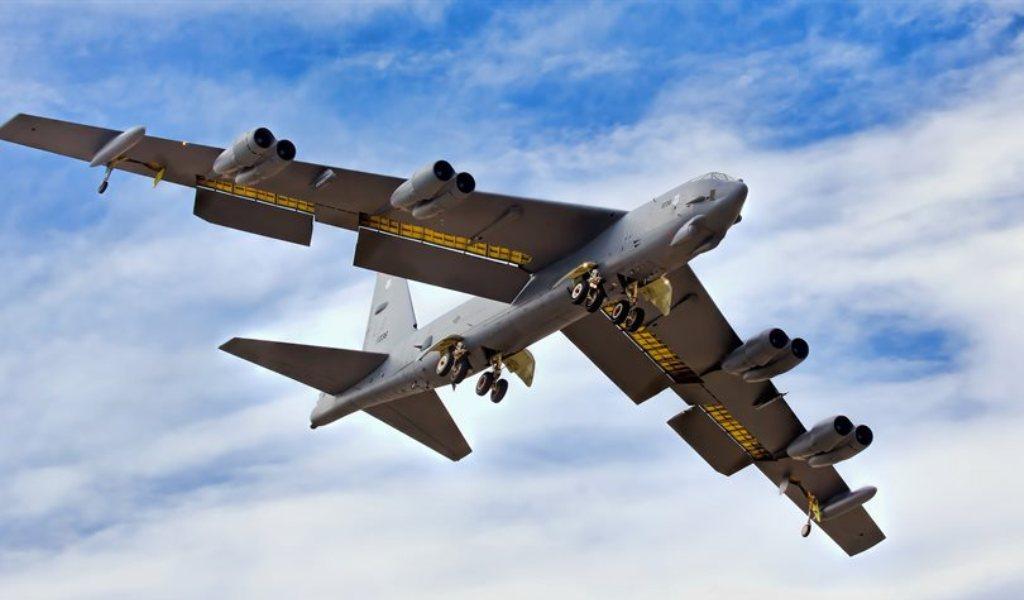 Boeing B-52 Stratofortress.