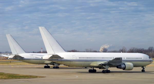 """Пассажирские самолеты Bоeing B767 компании Vision Airlines со """"скрытой"""" регистрацией  N769VA и N767VA"""
