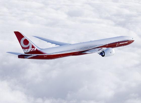 Самолет Boeing B777-9X
