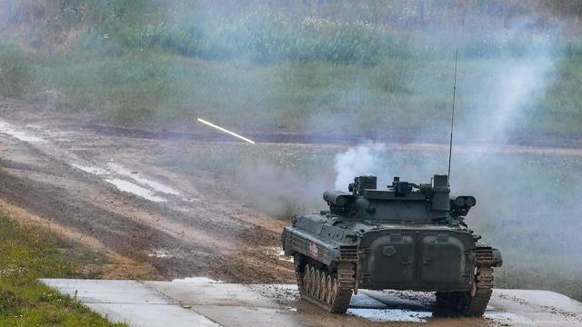 """Боевая машина пехоты БМП-2М с боевым модулем """"Бережок"""""""
