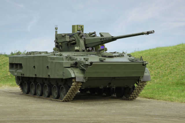 Боевая машина 2С38