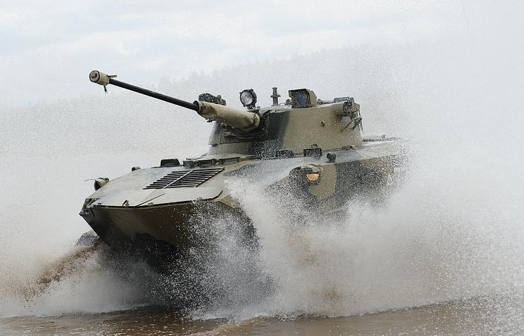 Боевая машина десанта БМД-2.