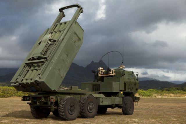 Боевая машина М142 HIMARS