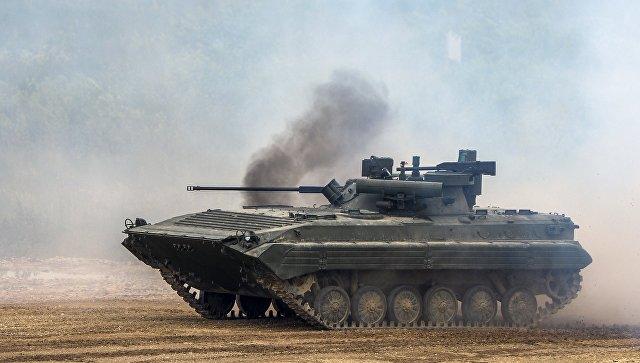 Боевая машина пехоты БМП-2.