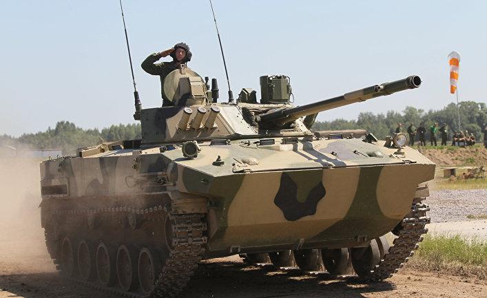 Боевая машина пехоты БМП-3.