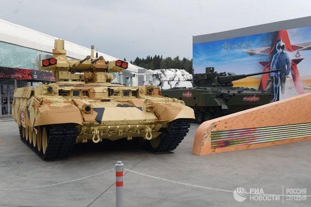 Боевая машина поддержки танков Терминатор
