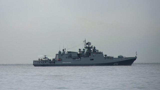 Российский боевой корабль «Адмирал Григорович»