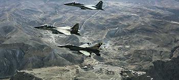 Боевой вылет авиации Израиля. Фото с сайта www.idf.il