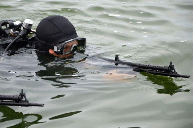 Боевой пловец ВМС РФ