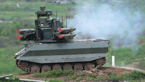 Боевой робот Уран-9